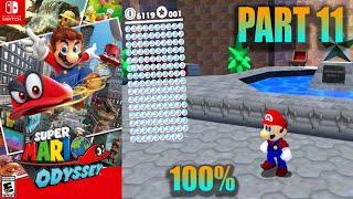 Super Mario Odyssey [09] 100% Switch Longplay pt.11