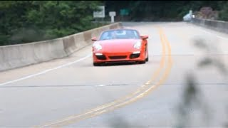 Preview: Dhani Jones Prepares to Drive the Tail of the Dragon in the New 2013 Boxster S