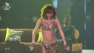 رقص شرقي رائع تركي بحضور إبراهيم  تاتليسس على اغنية دمعك ماجاب 2016 HD
