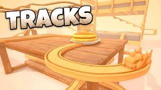 Tracks! -  Wooden Train Track Simulator! - Tracks Gameplay