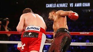 Canelo Alvarez Viciously KOs Amir Khan, Tells GGG