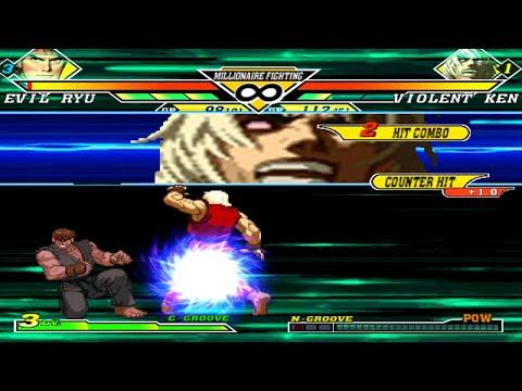 KOFM Lv3 Evil Ryu Vs Violent Ken