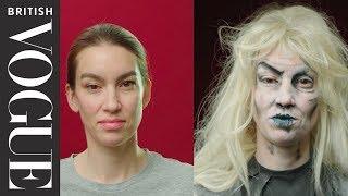 Easy Halloween Make-Up: Zombie Girl   British Vogue