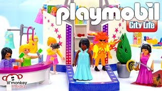 Playmobil City Life Fashion & Playmo-Friends! Red Carpet Fashionista, Model with Catwalk and More!