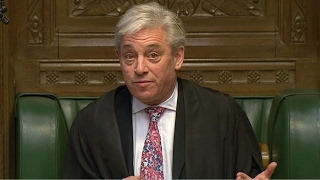 Commons Speaker John Bercow defends Donald Trump comments