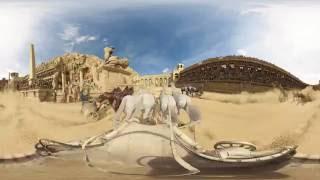 BEN-HUR (2016) - Chariot Race 360° Video - Paramount Pictures