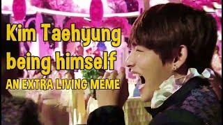 Kim Taehyung Being Himself, an extra living meme #GUCCIBOY