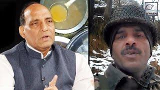BSF Jawan Video | Union Home Minister Rajnath Singh ORDERS Inquiry | Lehren News
