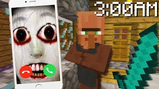 I received the scariest call at 3AM while playing Minecraft..