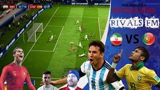FIFA 18 - World Cup 2018 - Ep 35 Iran vs Portugal