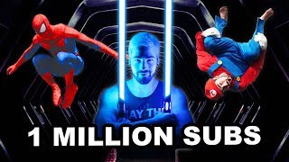 Nick Pro Million Subscribers Special (Parkour, Challenges, Superheroes)