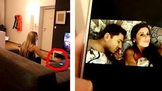 Snooping on Boyfriend's Phone Prank Goes CRAZY!!