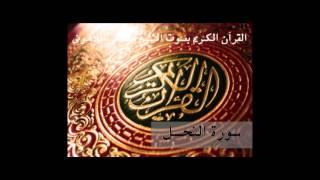 القرأن الكريم بصوت الشيخ مصطفى اللاهونى - سورة النحل
