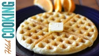 How To Make Waffles | Hilah Cooking