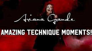 Ariana Grande AMAZING Potential. BEST Vocals. (Technique)