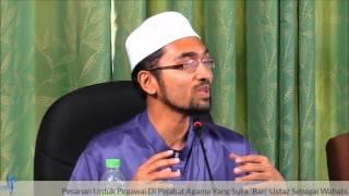 Pesanan Untuk Pegawai Di Pejabat Agama Yang Suka 'BAN' Ustaz - Dr. Rozaimi Ramle
