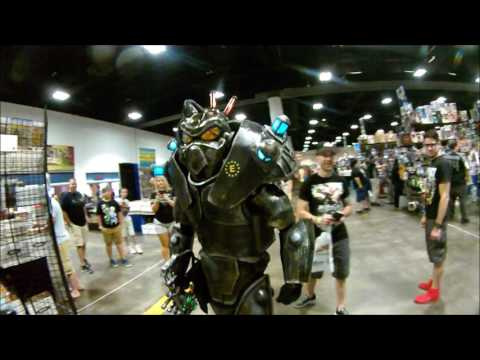Xxx Mp4 Fallout Cosplay Enclave Soldier Invades TAMPA COMIC CON 2017 3gp Sex
