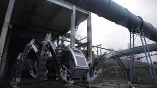 Mantis - Two Tonne Turbo Diesel Hexapod Walking Machine
