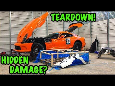 Xxx Mp4 Rebuilding A Wrecked 2014 Dodge Viper TA QuotTIME ATTACKquot PART 3 3gp Sex
