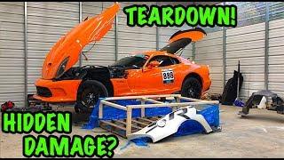 Rebuilding A Wrecked 2014 Dodge Viper TA