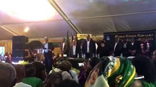 Jacob Zuma Sings the Emotional