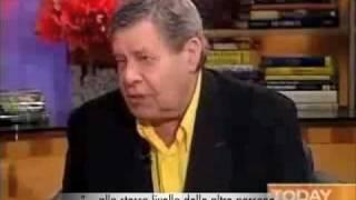 Jerry Lewis parla del suo meraviglioso libro-confessione