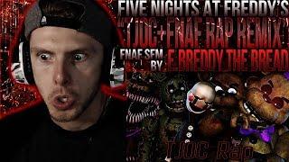 "Vapor Reacts #714 | [FNAF SFM] UCN ANIMATION ""TJOC + FNAF Rap Remix"" by E.Breddy The Bread REACTION!"