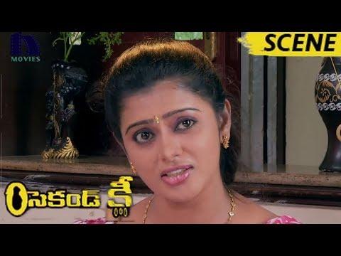 Varsha Changing Saree - Mohan Tempts With Varsha Glamour - Second Key Movie Scenes