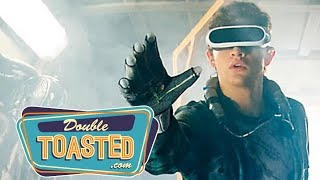 READY PLAYER ONE EASTER EGGS AND TRAILER REACTION (2018) - Double Toasted