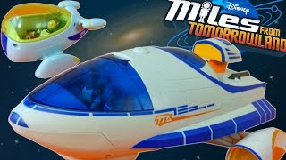 MILES FROM TOMORROWLAND TTA STELLOSPHERE AND STARJETTER TOY SPACE SHIP DISNEYJUNIOR