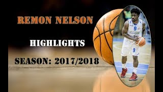 Remon Nelson Highlights 2017/18