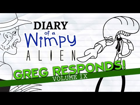 Xxx Mp4 Diary Of A Wimpy Alien Greg Reacts To Your Comments VOLUME 9 Wimpy Kid Alien Parody 3gp Sex