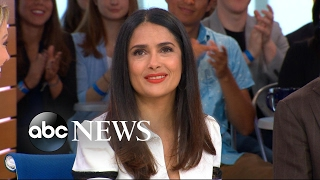 Salma Hayek weighs in on wearing the same outfit to the office daily