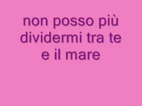 Laura Pausini Tra Te E Il Mare lyrics. testo