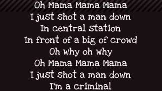 Rihanna - Man Down -Paroles/Lyrics