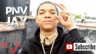 PNV JAY IN THE HOOD WITH ALL HIS JEWELS ,TALKS ABOUT HIS VIDEOS BEING ON WORLDSTAR & SONG WITH 22GZ