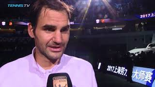 'Shocked' Roger Federer talks after brilliant win vs Nadal | Shanghai 2017 Final