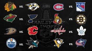 2017 Stanley Cup Playoffs - Round 1 - All Goals