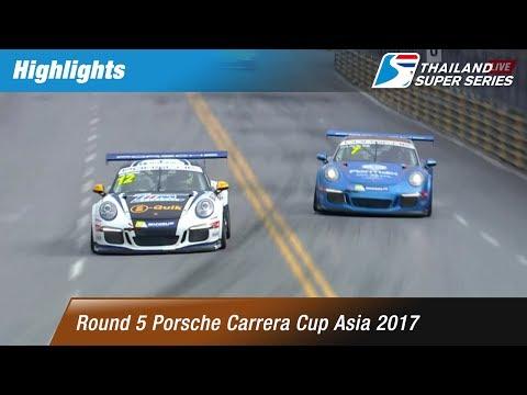 Xxx Mp4 TH Highlights Porsche Carrera Cup Asia 2017 Round 5  Bangsaen Street Circuit Chonburi 3gp Sex