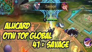 CHEAT ALUCARD 41 SAVAGE TANPA MATI - HACK MOBILE LEGENDS 2018
