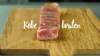 Kobe Beef richtig braten. Gourmondo Food Studio