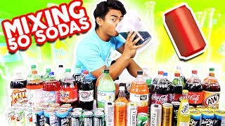 Do Not Mix 50 Sodas Together and Drink It!