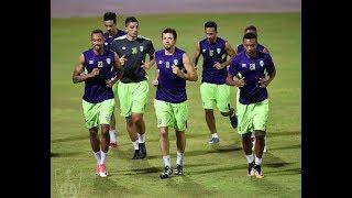 تدريبات الفريق الأول لكرة القدم بالنادي الاهلي _ الأثنين 28 أغسطس