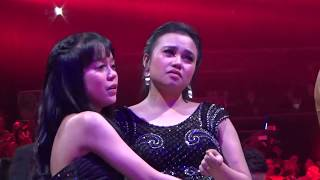 Reaksi LESTY Aulia dan Irwan melihat Penapilan RARA di Grand Final LIDA 2018 [re-upload]