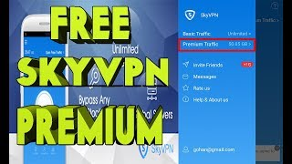 Tutorial on how to get SkyVPN Premium account for free