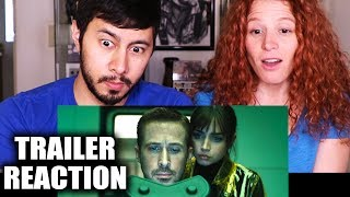 BLADE RUNNER 2049   Trailer #2 Reaction w/  Nina Storey