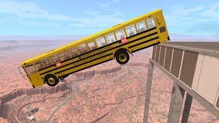 Building Cars Falls Crazy Crashes #3 - BeamNG Drive