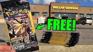 SHOWING YOU HOW I GOT FREE PACKS OF POKEMON CARDS! (opening GX's)