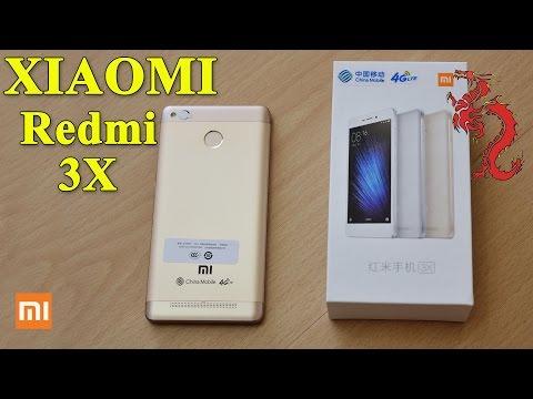 Xxx Mp4 XIAOMI Redmi 3X Цвет Gold и лого CHINA MOBILE 3gp Sex