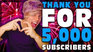 WATCH THIS IT'S FOR YOU ! ! (THANK YOU FOR 5,000 SUBSCRIBERS)